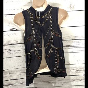 Free People Tops - Free People beaded Sleeveless top